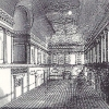 Gravure de la Ballroom, The Assembly Rooms, bath